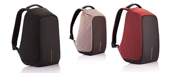 Colores que se pueden elegir en las mochila antirrobo Bobby Original