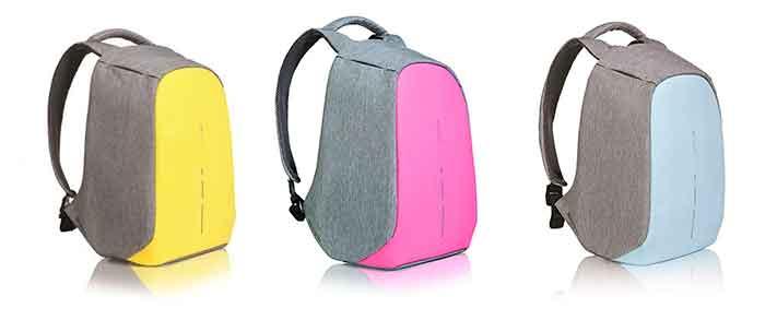 Colores disponibles para la mochila Bobby Compact antirrobo