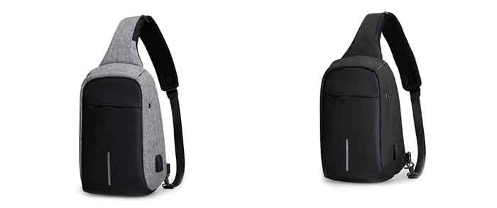 Colores disponibles en la mochila antirrobo MR 5898