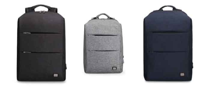 Los colores disponibles en la mochila Mark Ryden MR 5911 son negro, azul y gris.